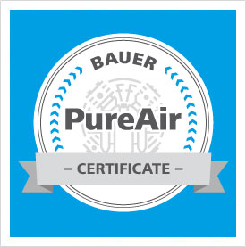 BAUER KOMPRESSOREN PureAir – Safe Diving